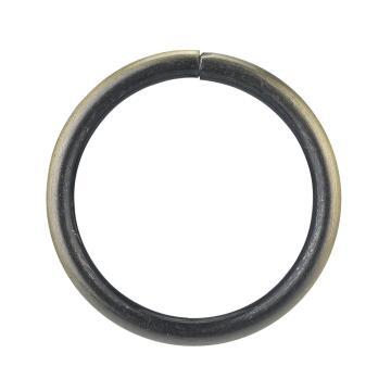 RINGS SIMPLE D20 NEO ANTIC BRASS 10PCS