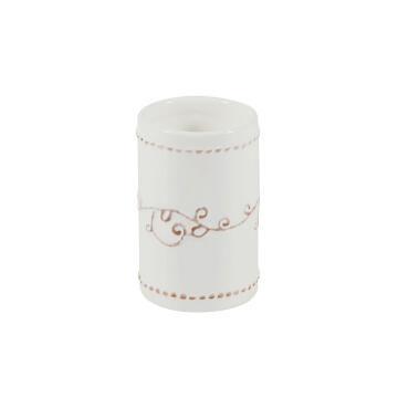 Tumbler ceramic SENSEA Emmy white