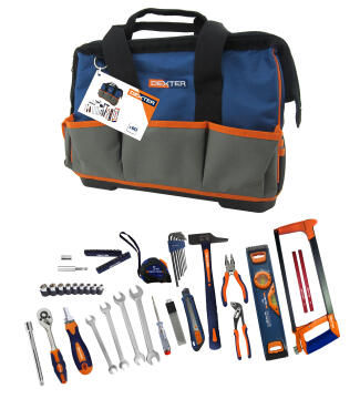 Toolset bi materials DEXTER 60 pieces