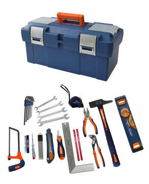 Tool set bi matierals DEXTR 40 pieces