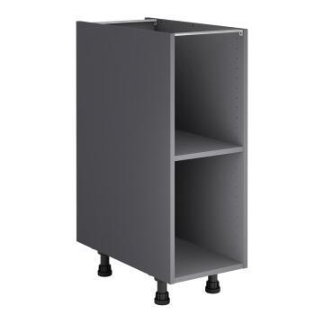 Kitchen cabinet Delinia bottom Grey 58cmx30cmx76.8cm