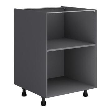 Kitchen cabinet Delinia bottom Grey 58cmx60cmx76.8cm
