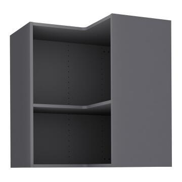 Kitchen cabinet Delinia « L » angle Grey 35cmx67cmx76.8cm