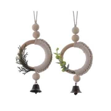 2PC MACRAME RING DECORATION