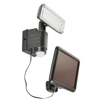 Floodlght solar LED INSPIRE Kolding PIR black