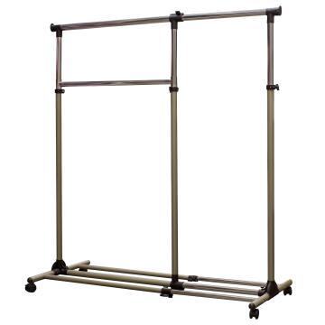 Garment rack 2 parts, extendable, spaceo