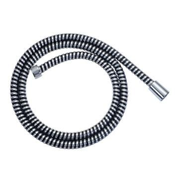 PVC Shower Hose Chrome/Black 1,75m SENSEA
