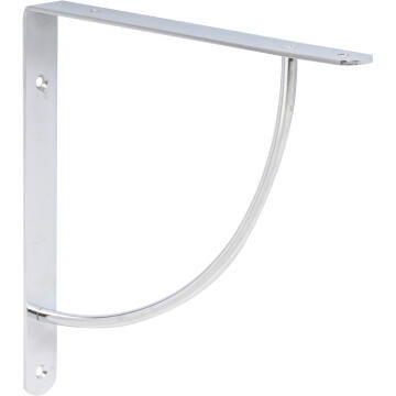 BRACKET 230X230X25MM CHROME