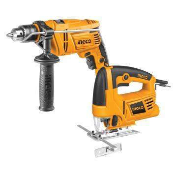 Combo INGCO impact drill 650W + Jigsaw 570W