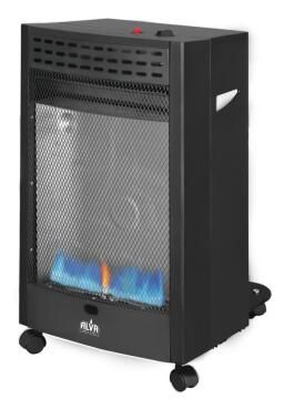 GAS HEATER ROLL ABOUT BLUE FLAME ALVA