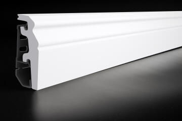 Skirting PVC PO620 White-20x60x2400mm