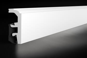 Skirting PVC P0910 White-20x90x2400mm