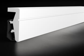 Skirting PVC PO811 White-20x80x2400mm