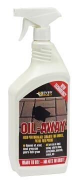 Driveway & Paving Degreaser Everbuild Oil Away 1L