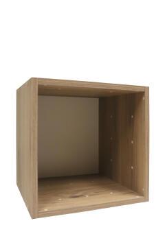 Cube 1 box oak