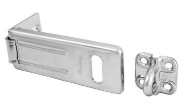 Hasp & staple 89mm mackie
