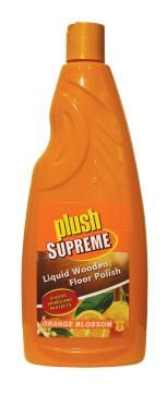 Liquid wooden floor polish PLUSH SUPREME orange blossom 750ml