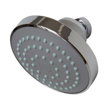Blue Tide Single Jet shower rose/shower head with swivel knuckle,