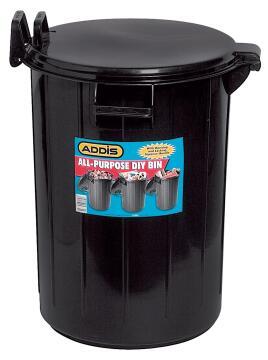 All purpose DIY bin ADDIS 55 litre