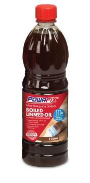 Boiled linseed oil POWAFIX 750ml
