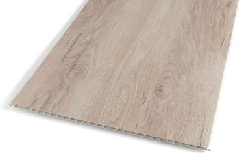 Wall Panel PVC Wood 375x2600mm-Pack of 3.9m2