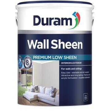 Wall paint DURAM Sheen White 5L