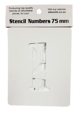 Stencil Numbers K&K 75 mm (0-9)