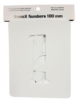 Stencil Numbers K&K 100 mm (0-9)