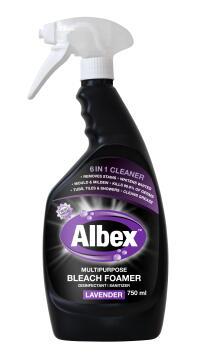 Bleach foamer ALBEX Spray lavender 750ml