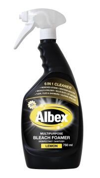 Bleach foamer ALBEX foamer lemon spray 750ml