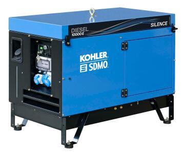 Diesel10000E Silent (1phase, 11.25kVA Diesel, Silent Generator)