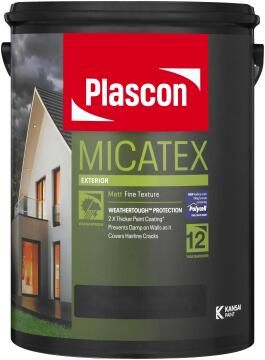 Micatex tint base Transparent PLASCON 5 litres