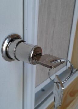 Wardrobe Sliding Door Push Lock