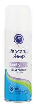 Mosquito repellent PEACEFUL SLEEP family care aerosol 150ml