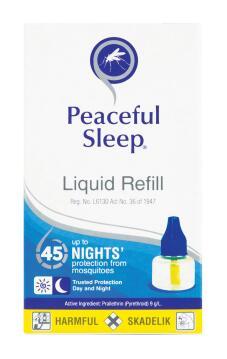 Mosquito repellent PEACEFUL SLEEP liquid refills 35ml