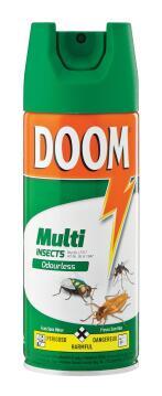 Multi-insect killer DOOM odourless spray 300ml