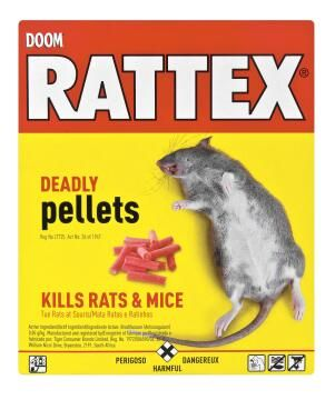 Insect killer DOOM rattex deadly pellets 100g