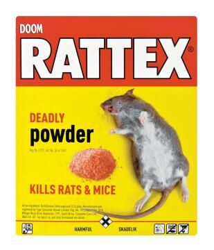 Insect killer DOOM rattex deadly powder 100g