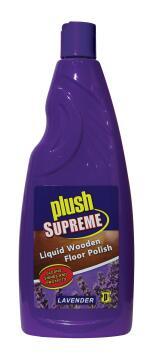 Liquid wooden floor polish PLUSH SUPREME lavender 750ml