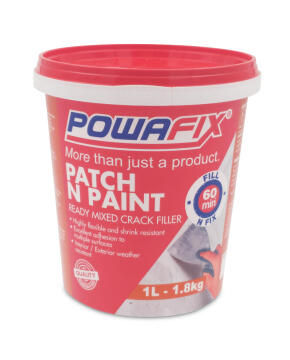 Crack filler POWAFIX Patch N Paint 1 litre