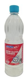 Supergloss thinners POWAFIX 750ml