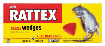 Insect killer DOOM rattex deadly wedges 5x15g