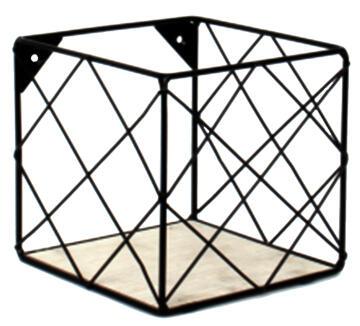 dada shelf structure metal mesh + mdf