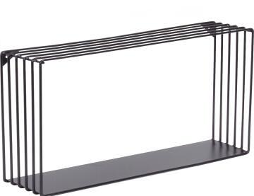 dsx rectangle shelf black