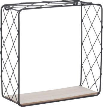 dsx malla square shelf black