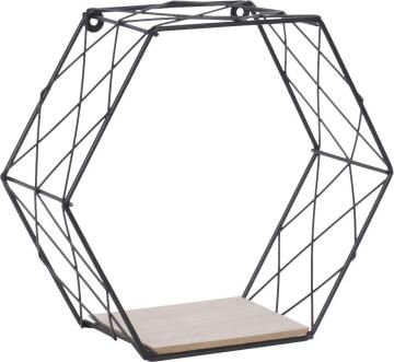 dsx malla hexagon shelf black