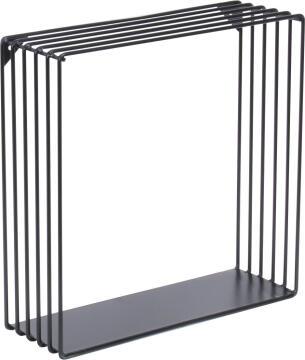 dsx square shelf black