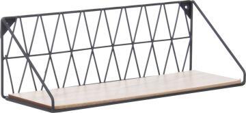 dsx malla rectangle shelf black