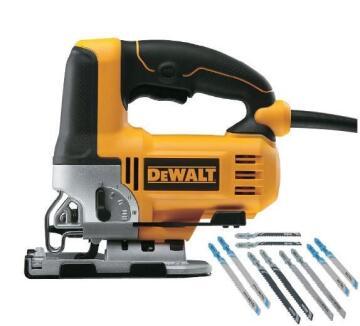 Corded jigsaw DEWALT 500W plus 10pcs blades DT2294