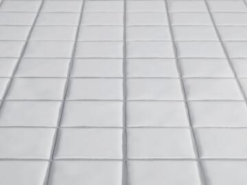 Mosaic Ceramic Matt White 300x300mm